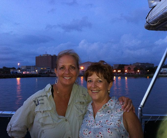 Friends on the Sunset Cruise on the Charleston Harbor