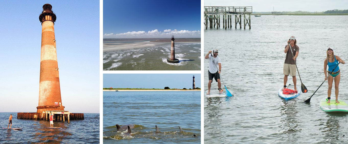 Have Fun on the Morris Island Lighthouse Sup Tour