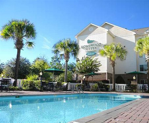 Outdoor Swimming Pool of Homewood Suites by Hilton® Charleston - Mt. Pleasant