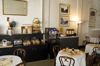 Best Western Pioneer Square Hotel Dining