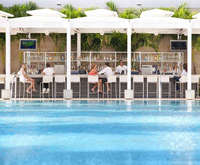 Outdoor Swimming Pool of Fontainebleau Resort