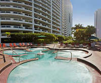 Outdoor Pool at Doubletree Grand Hotel Biscayne Bay