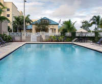 Outdoor Swimming Pool of Hilton Garden Inn Miami Airport West