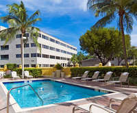 Outdoor Pool at Holiday Inn Express & Suites Kendall East Miami
