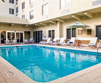 Outdoor Pool at Comfort Suites Miami Springs