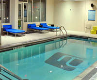 Aloft Montreal Airport Indoor Swimming Pool