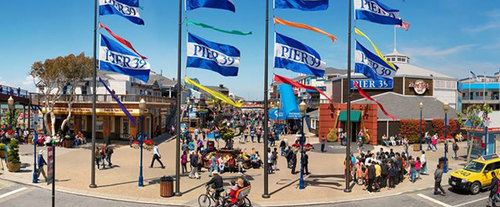 PIER 39 Attraction Pass: Hop On/Hop Off Sightseeing Trolley Tour
