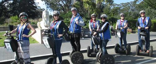 Hills of San Francisco Crooked Street Advanced Segway Tour - 3 Hours, Segway rental
