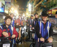 Chinatown Segway Night Tour, sights