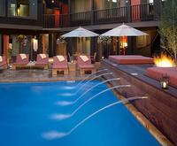 Outdoor Pool at Hotel Aspen