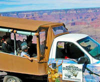 Grand Canyon 4x4 Safari & South Rim Walking Tour, guide