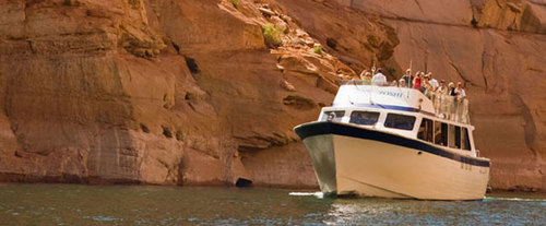 Antelope Canyon Boat Tour, river tour