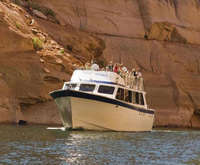 Antelope Canyon Boat Tour, rock formations