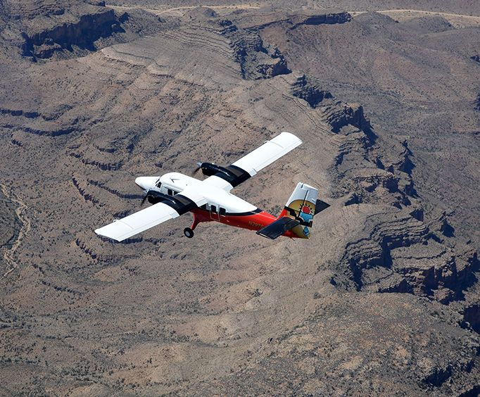 Incredible Experience with Grand Canyon Landmarks Tour by Airplane