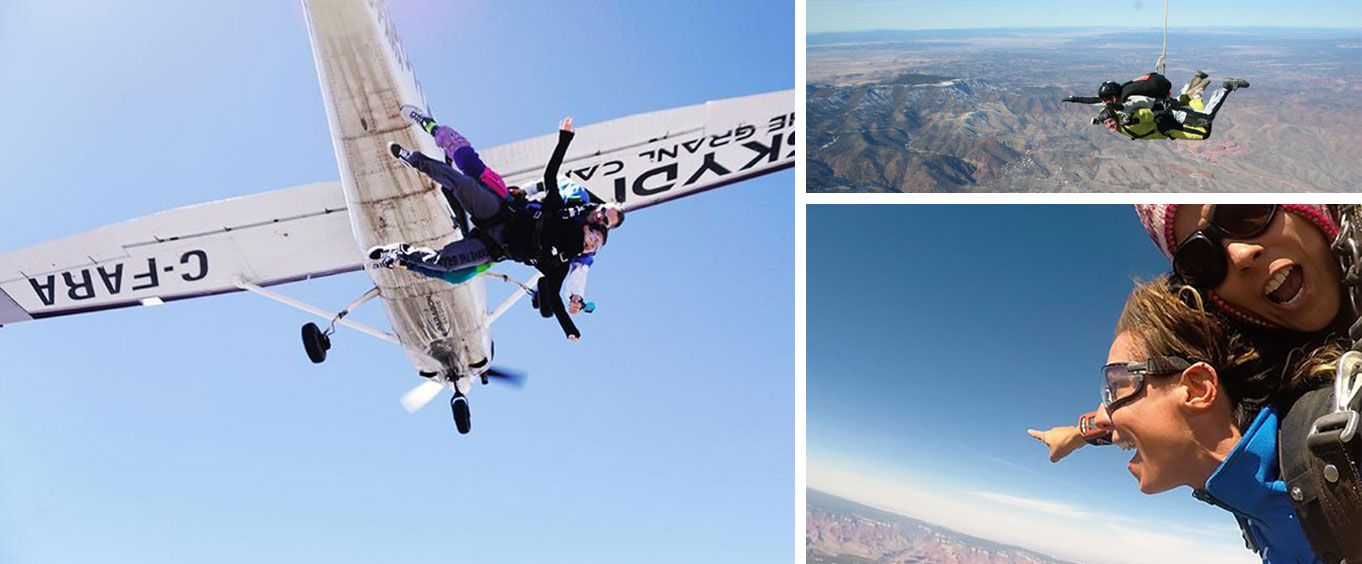 An Exciting Skydiving Experience
