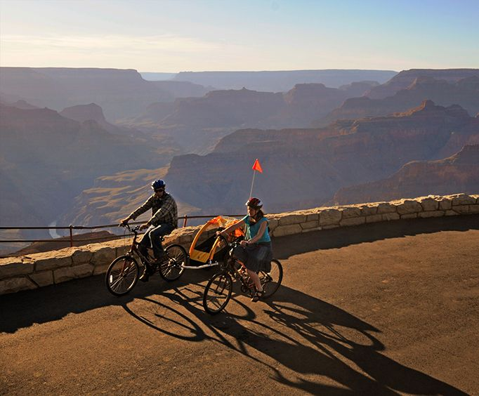 Amazing Sights with the Grand Canyon Hermit Road Bicycle Tour