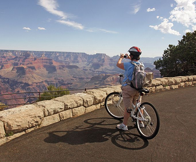 Incredible Pictures with the Grand Canyon Hermit Road Bicycle Tour
