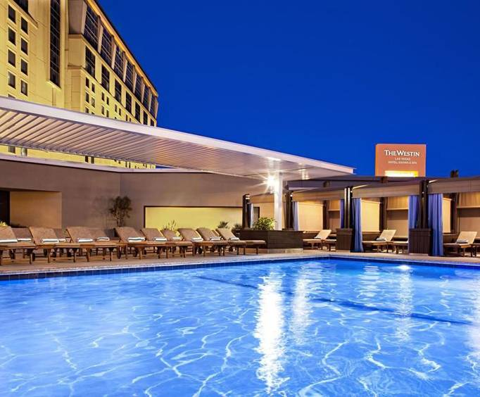 Outdoor Pool at Westin Las Vegas Hotel