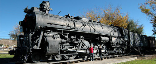 Grand Canyon South Rim VIP Photo Tour, locomotive