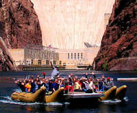 12 Mile (20K) Colorado River Raft & Hoover Dam Tour