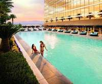 Outdoor Swimming Pool of Trump International Hotel & Tower