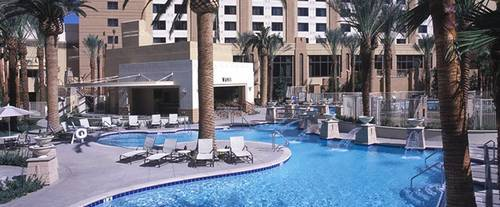 Outdoor Pool at Hilton Grand Vacations on the Las Vegas Strip