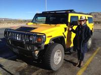 me and our hummer.....