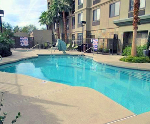 Outdoor Swimming Pool of BEST WESTERN PLUS St. Rose Pkwy/Las Vegas South Hotel