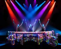 See the Blue Man Group live at the Luxor Hotel and Casino in Las Vegas.