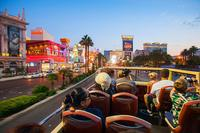 Ride through Downtown Vegas and the Vegas Strip, as your guide fills you in on cool facts about the attractions, casinos, and landmarks.