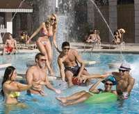 Outdoor Pool at New York New York Hotel And Casino
