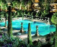 Outdoor Pool at Bellagio Hotel and Casino