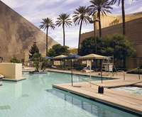 Outdoor Swimming Pool of Luxor Hotel & Casino