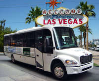 Your ride through the city for the Las Vegas See It All! Tour.