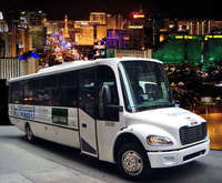 Your chauffeur waits to take you on a Sin City adventure!