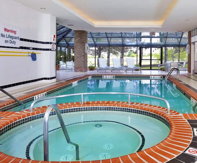 Sheraton Suites Philadelphia Airport Indoor Swimming Pool