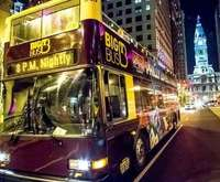 Philly By Night Open Top Bus Tour, hard rock cafe performance