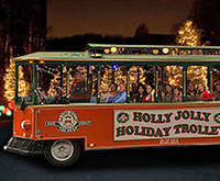 Holly Jolly Holiday Trolley of San Diego, Christmas activity
