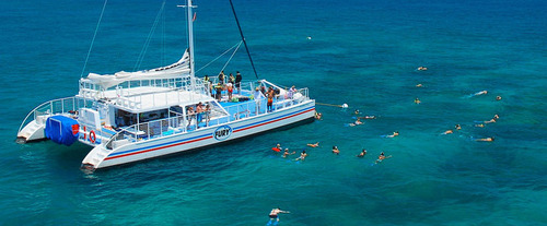 Group Snorkeling with Key West Shore Excursion: Reef Express Snorkeling Tour
