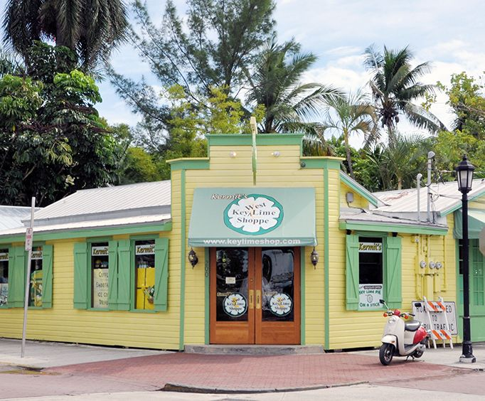 Key West Lime Shop on the Historic Key West Walking Tour