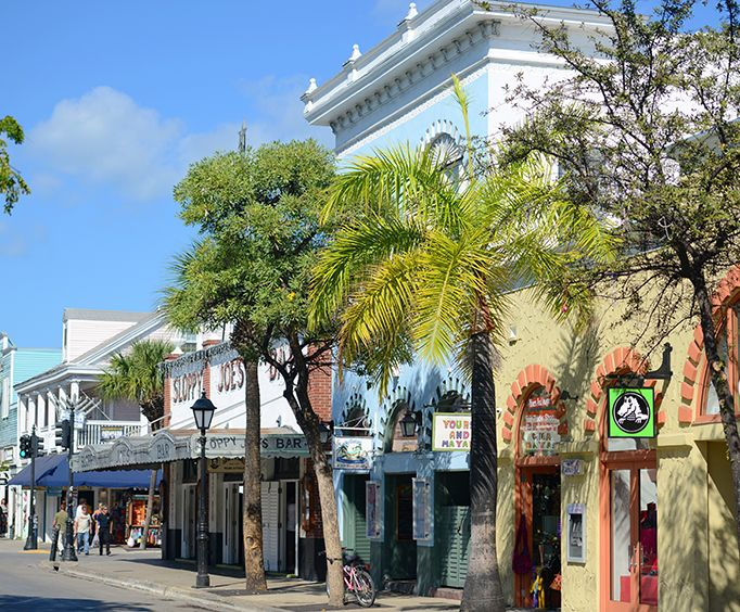 Downtown on the Historic Key West Walking Tour