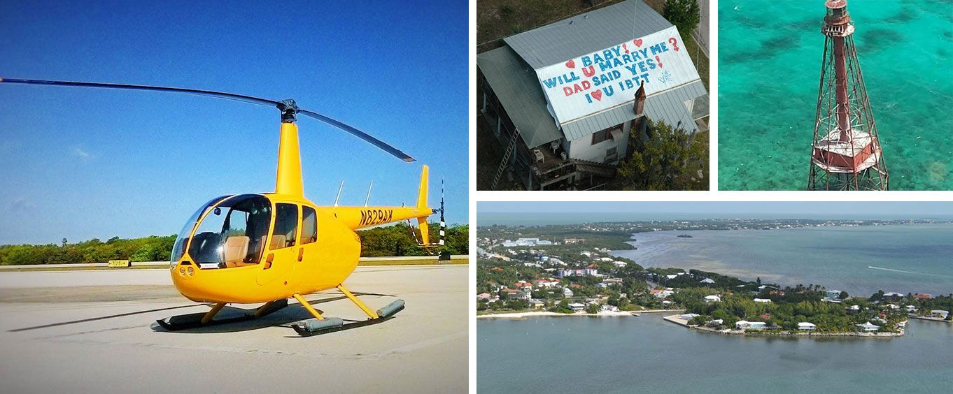 Experience the Florida Keys Helicopter Tours