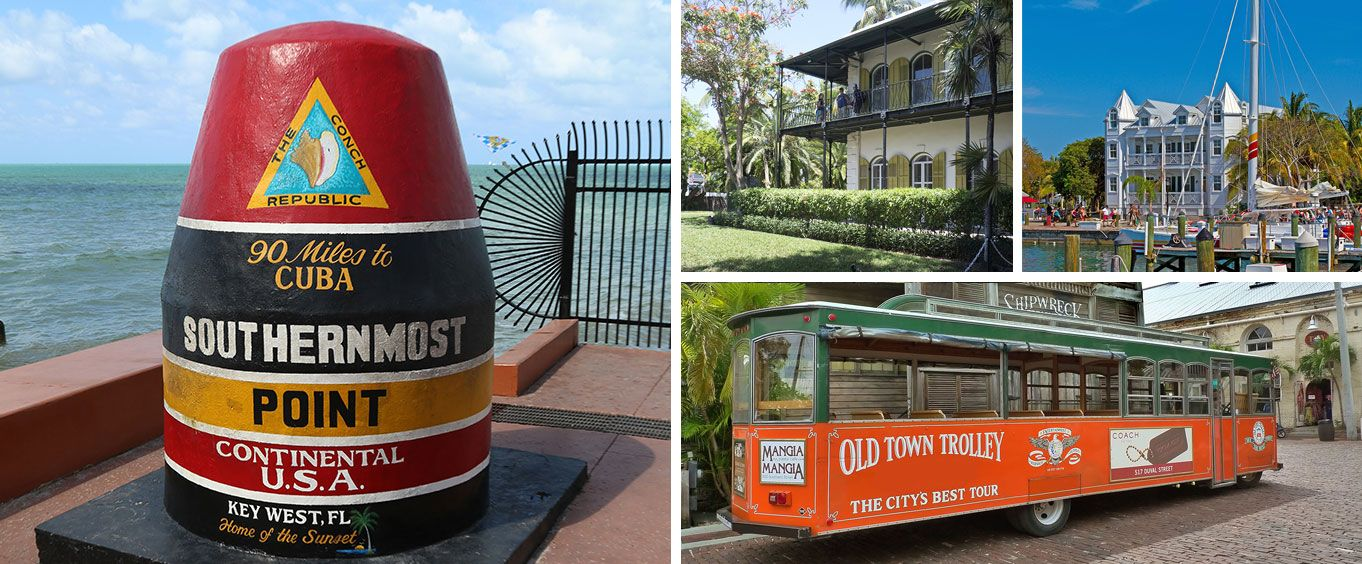 Experience the Old Town Trolley Tour of Key West