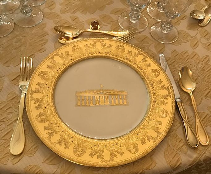Golden Plate at the Harry S Truman Little White House