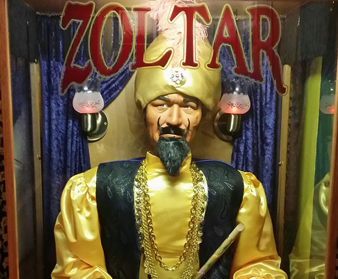 Zoltar at Ripleys Museum Key West