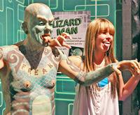 The Lizard Man at Ripley's Museum Key West
