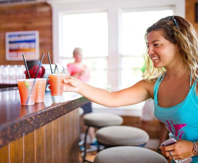 Drinks at a Bar with Made in Key West Walking Food Tours