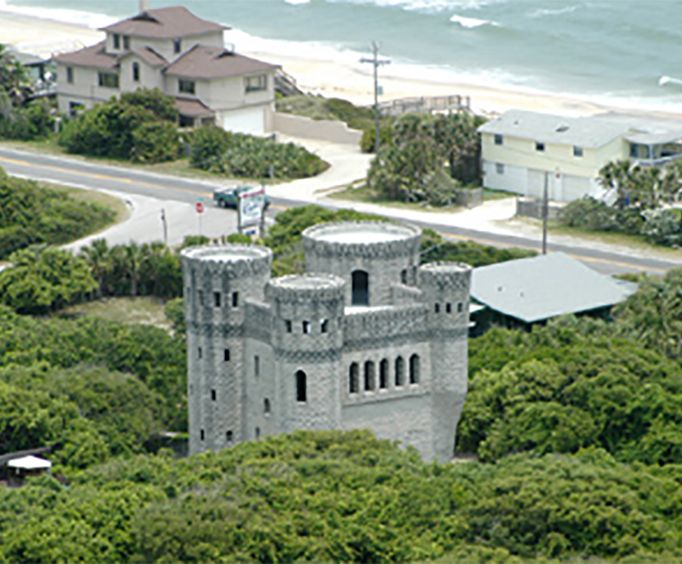 Castle with the St Augustine Fort Matanzas and Downtown Helicopter Tour