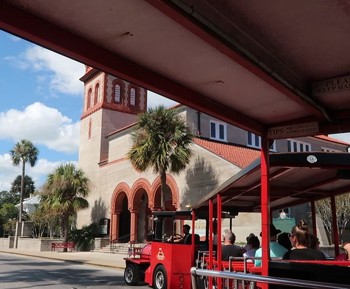 Ride the Train with Ripleys Red Train Tour