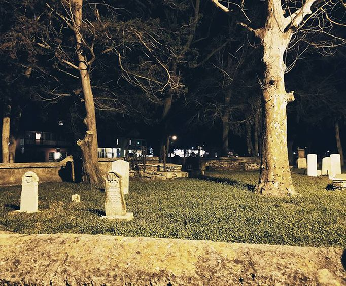 Cemetery on the Secrets of St Augustine Ghost Tours